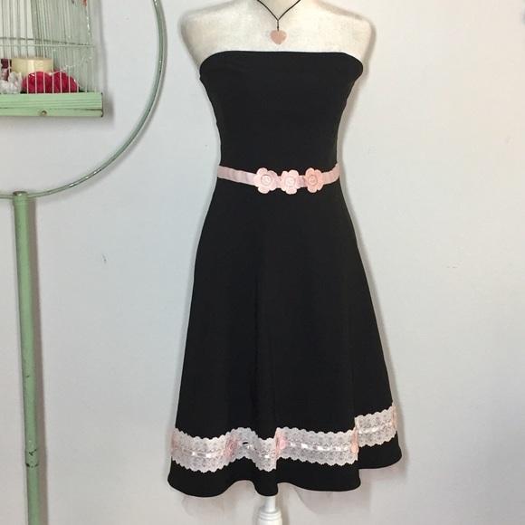 33d5e1945 Ruby Rox Dresses | Junior Size 13 Strapless Dress | Poshmark